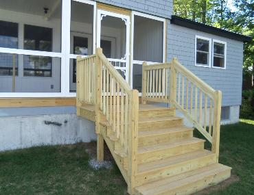 Msbuildersmaine Com Builds Porches Decks Steps And